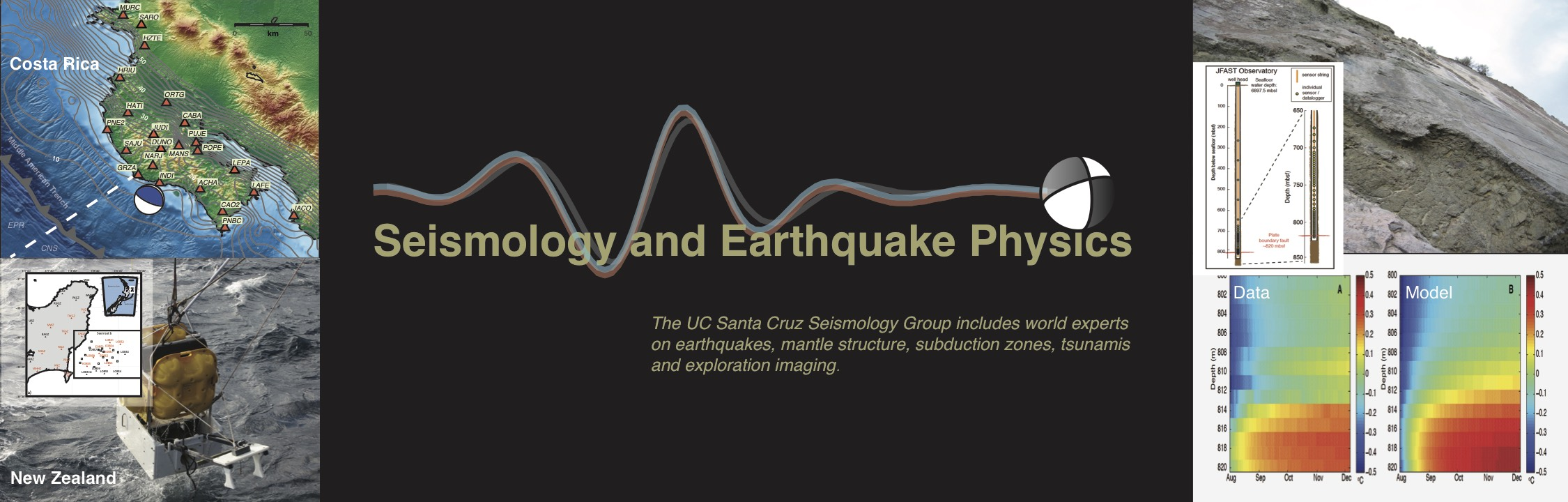 Seismology and Earthquake Physics